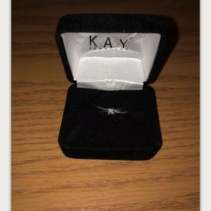 Kay Jewelers Sterling Silver Promise Ring